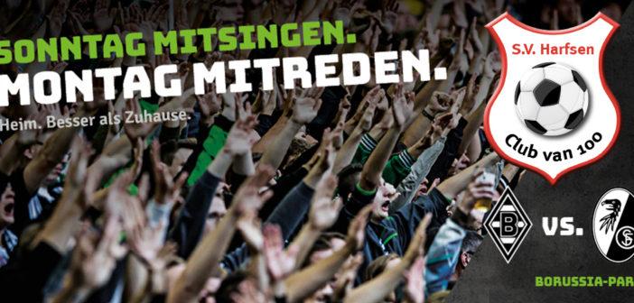 Club van 100 weer naar Bundesligawedstrijd