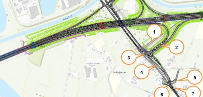 Informatie over mogelijke hinder wegwerkzaamheden A1