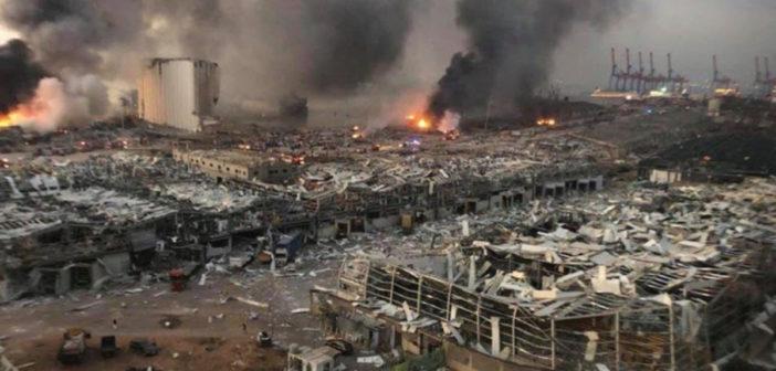 Geef voor ramp in Beiroet via Kerk in actie